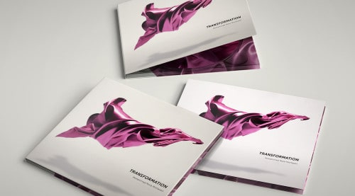 New album 'Transformation' artwork & design