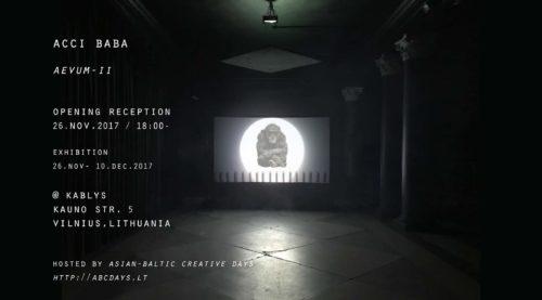 Solo Exhibition | aevum-ii
